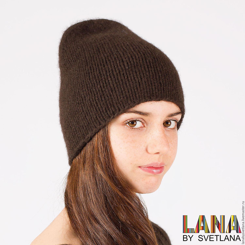 вязаные женские теплые шапки страна мастеров схемы
