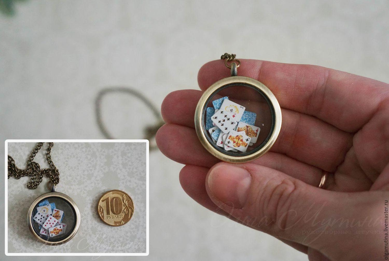 Pendant with miniature inside shop online on livemaster with pendant locket pendants handmade pendant with miniature inside countersunkhouses olgamutina aloadofball Choice Image