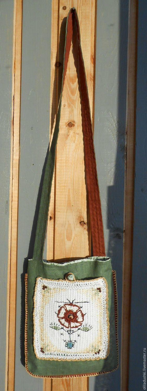Летняя текстильная сумка Древо на магнитной застёжке, Сумки, Сыктывкар, Фото №1