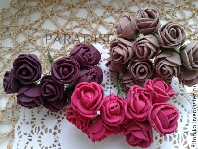 Роза из фоамирана, Цветы, Брянск, Фото №1