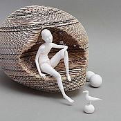 Куклы и игрушки ручной работы. Ярмарка Мастеров - ручная работа Белое безмолвие. Handmade.