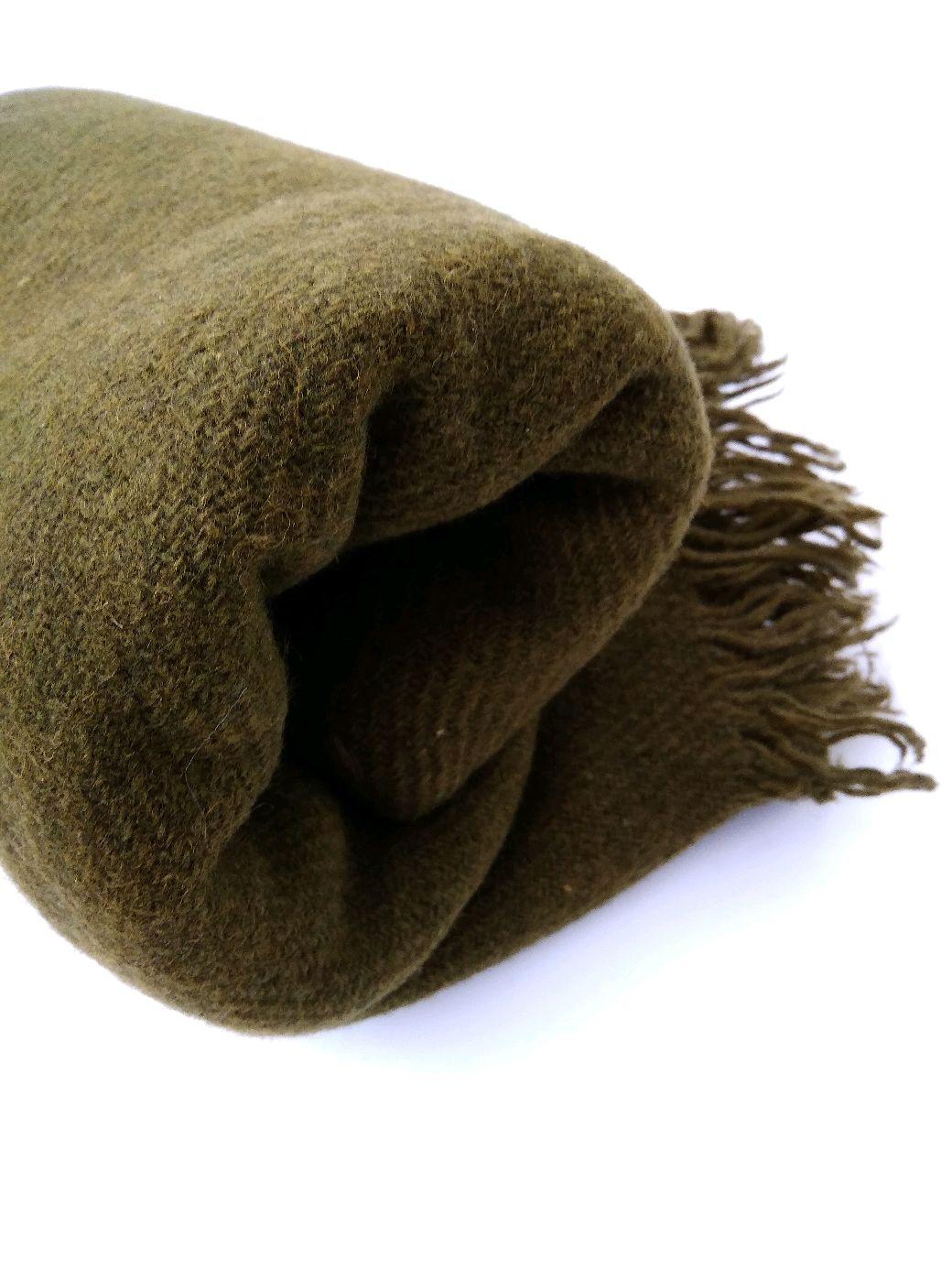 Plaid homespun wool color khaki, Blankets, St. Petersburg,  Фото №1