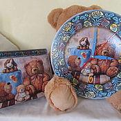 Interior elements handmade. Livemaster - original item Set for children`s room
