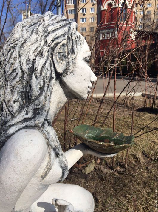 Садовая скульптура Фея. Автор Татьяна Плында / Sculpture Fairy by Tatyana Plynda