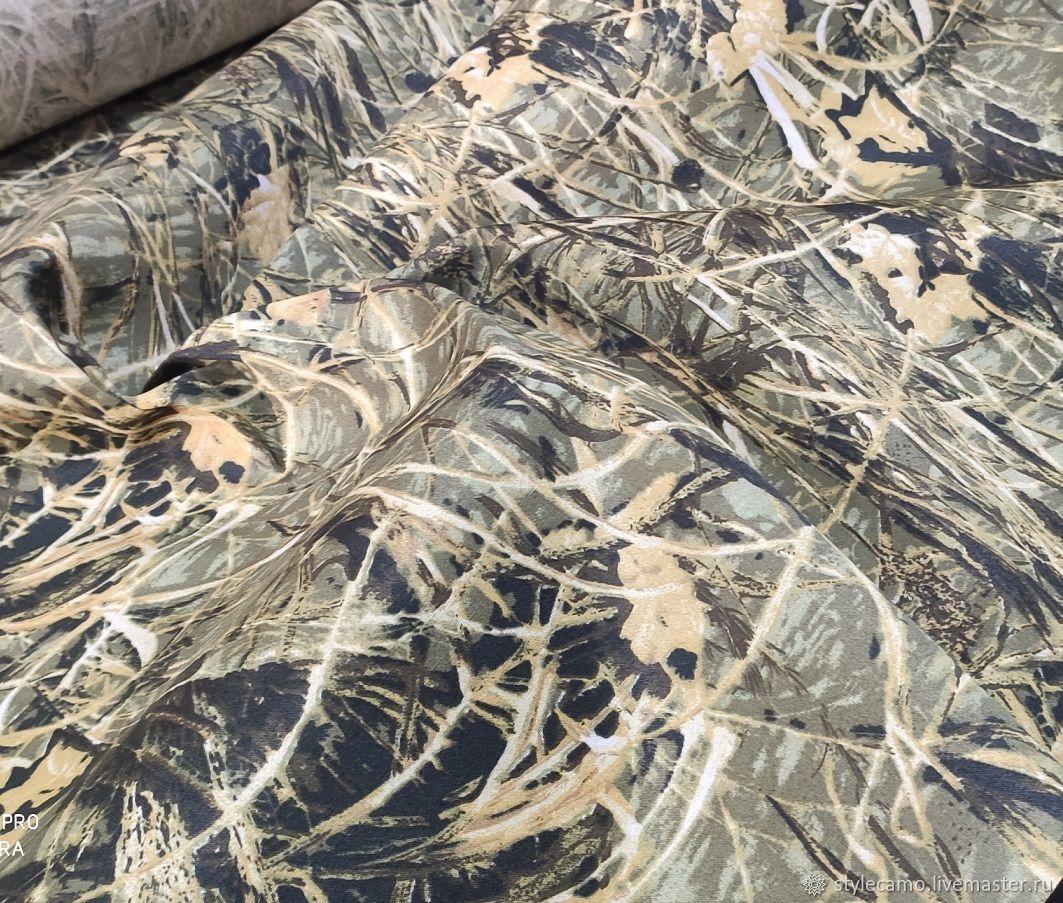 Ткань смесовая Грета Осока (20% хл. 80% п/э) 200 гр/м2, Ткани, Москва,  Фото №1