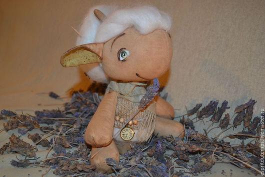 Ароматизированные куклы ручной работы. Ярмарка Мастеров - ручная работа. Купить Овечка Софи. Handmade. Разноцветный, винтажный стиль, хлопок