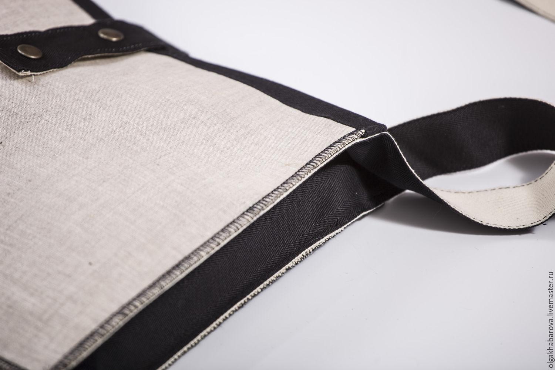 сумка минималистична с принтом BEATLES