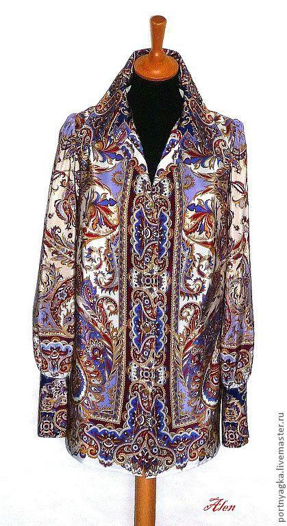Блузки ручной работы. Ярмарка Мастеров - ручная работа. Купить Блузка из ППП ВОСТОЧНЫЕ СЛАДОСТИ. Handmade. Блузка, блузка из шелка