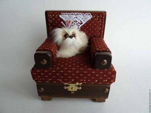 Подарочные наборы ручной работы. Ярмарка Мастеров - ручная работа. Купить Кресло-шкатулка для драгоценностей. Handmade. Кресло, оригинальный подарок
