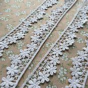 Материалы для творчества handmade. Livemaster - original item Cotton lace