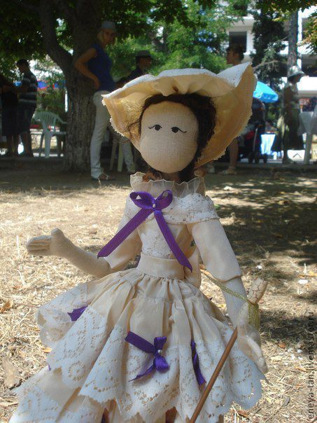 Коллекционные куклы ручной работы. Ярмарка Мастеров - ручная работа. Купить текстильная кукла Анни. Handmade. Текстильная кукла, тряпиенс