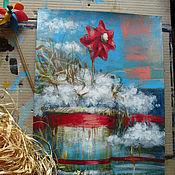 Картины и панно ручной работы. Ярмарка Мастеров - ручная работа Ожидая попутный ветер. Handmade.