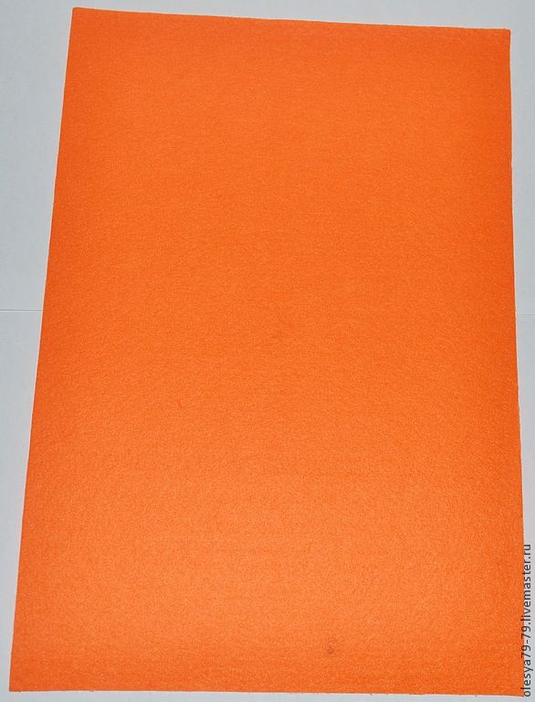 to buy felt. the basis for embroidery. felt for embroidery. the basis for the beadwork. felt sheet 1,4 mm 20 x 30 color: bright dark orange. olesandra beads beads. fair masters.