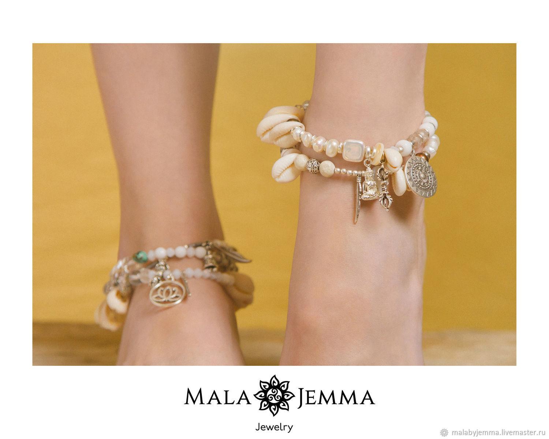 Double leg bracelet, Bead bracelet, Magnitogorsk,  Фото №1