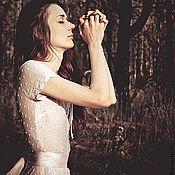 """Одежда ручной работы. Ярмарка Мастеров - ручная работа Летнее платье """"Milky way"""". Handmade."""