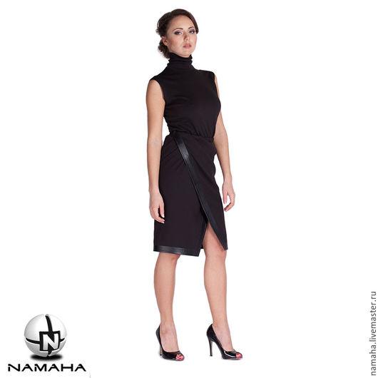 Юбки ручной работы. Ярмарка Мастеров - ручная работа. Купить Юбка карандаш чёрная, юбка офисный стиль, юбка теплая. Handmade.