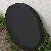 Музыкальные инструменты handmade. Livemaster - original item Black tambourine 50 studijski. Handmade.