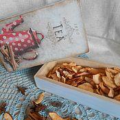 """Для дома и интерьера ручной работы. Ярмарка Мастеров - ручная работа Короб-пенал  """"Имбирный чай"""". Handmade."""