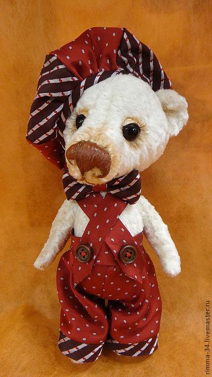 Мишки Тедди ручной работы. Ярмарка Мастеров - ручная работа. Купить Медвежонок Тимурка. Handmade. Медвежонок, ручная авторская работа