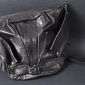 Сумки и аксессуары ручной работы. Ярмарка Мастеров - ручная работа Кожаная сумка-косуха. Handmade.