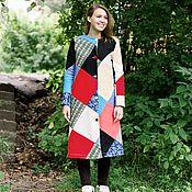 Одежда ручной работы. Ярмарка Мастеров - ручная работа Пальто пэчворк. Handmade.