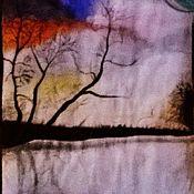 Картины ручной работы. Ярмарка Мастеров - ручная работа Картины: закат. Handmade.