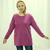 """Одежда handmade. Livemaster - original item Knitted tunic warm """"Weightless-3"""". Handmade."""