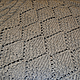 Кофты и свитера ручной работы. Серый пуловер с рельефным рисунком. Мария Сухорукова (suhma). Ярмарка Мастеров. Ручное вязание