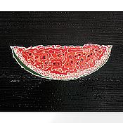 Картины ручной работы. Ярмарка Мастеров - ручная работа Арбуз. Handmade.