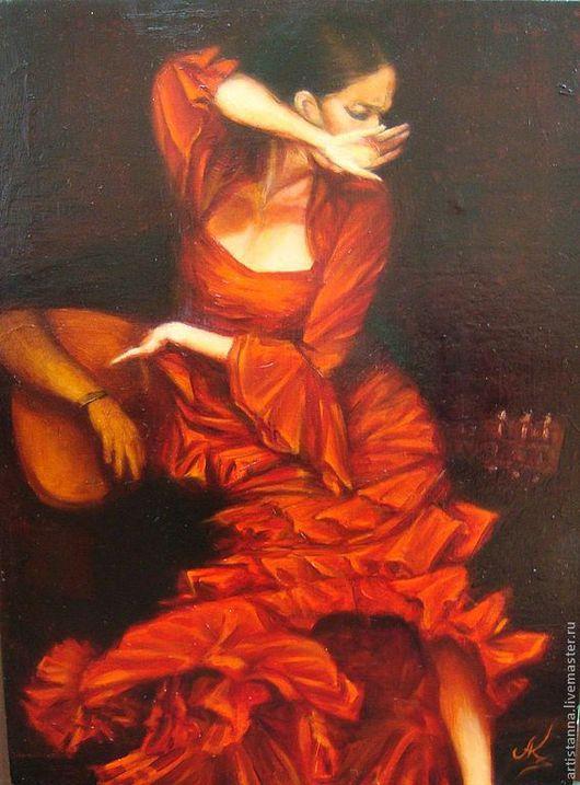 Фламенко, Х.М., 45х35, август2013, СПБ