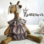 Куклы и игрушки ручной работы. Ярмарка Мастеров - ручная работа Жирафа Горошка. Handmade.