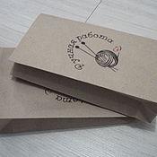 "Пакеты ручной работы. Ярмарка Мастеров - ручная работа Крафт пакеты ""Ручная работа"". Handmade."
