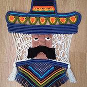 """Картины и панно ручной работы. Ярмарка Мастеров - ручная работа Панно """"Мексиканец"""". Handmade."""