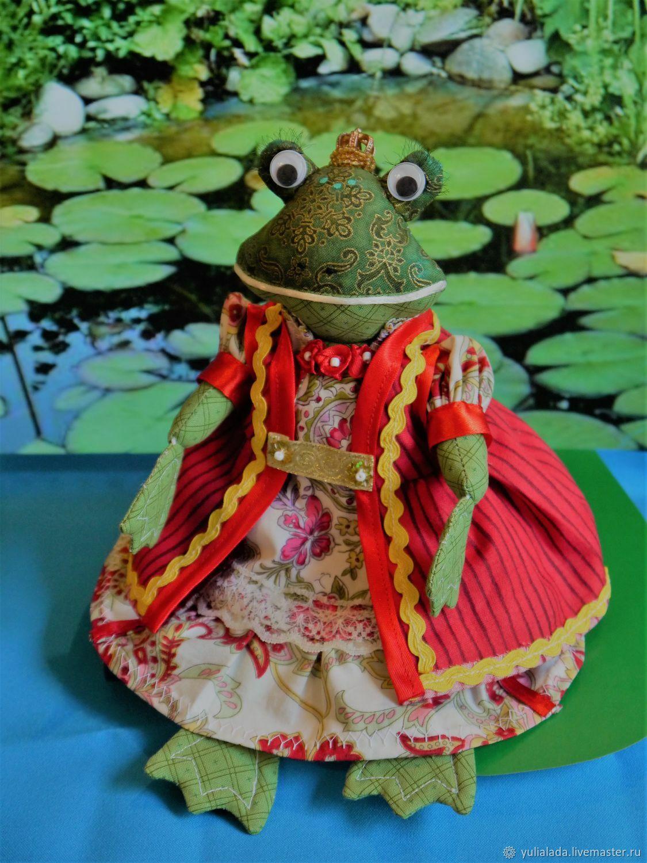 Лягушка-красавица, Мягкие игрушки, Тольятти,  Фото №1