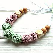 Одежда handmade. Livemaster - original item Juniper beads