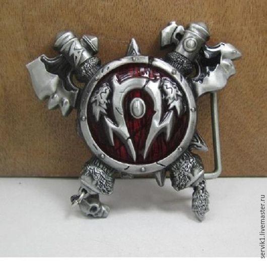 Пояса, ремни ручной работы. Ярмарка Мастеров - ручная работа. Купить пряжка на пояс (13) World of Warcraft. Handmade.