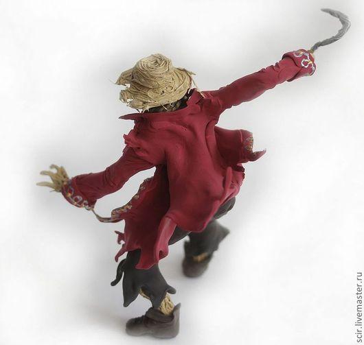 """Сказочные персонажи ручной работы. Ярмарка Мастеров - ручная работа. Купить фигурка """"Пугало"""" (персонаж из книги А.Пехова """"страж""""). Handmade."""