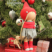 Куклы и игрушки ручной работы. Ярмарка Мастеров - ручная работа Малышка-гномик!!!. Handmade.