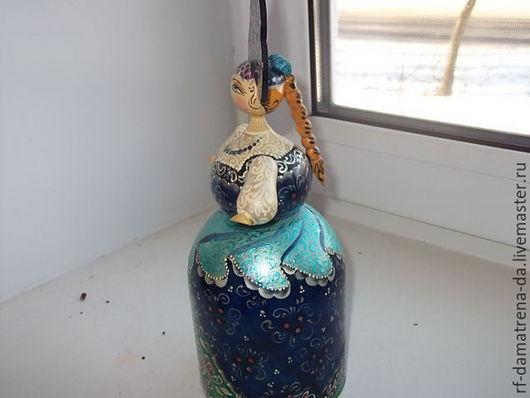 """Народные куклы ручной работы. Ярмарка Мастеров - ручная работа. Купить Кукла """" Барыня - боярыня """". Handmade. Синий"""