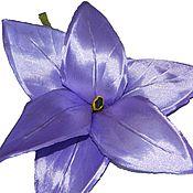 Цветы и флористика ручной работы. Ярмарка Мастеров - ручная работа Лилия брошь, заколка. Handmade.