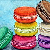 Картины и панно ручной работы. Ярмарка Мастеров - ручная работа Macarons. Handmade.