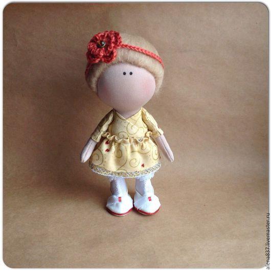 Коллекционные куклы ручной работы. Ярмарка Мастеров - ручная работа. Купить Маленькая куколка. Handmade. Золотой, Маленькая куколка