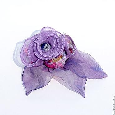 """Украшения ручной работы. Ярмарка Мастеров - ручная работа «Сиреневая каденция в бутонах» («Lilac Cadence in the buds""""). Handmade."""