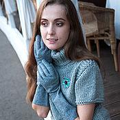 """Одежда ручной работы. Ярмарка Мастеров - ручная работа Свитерок  """"Северное море"""". Handmade."""