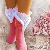 Аксессуары ручной работы. Ярмарка Мастеров - ручная работа Русские сезоны. Носки вязаные, шерстяные носки, подарок ручной работы. Handmade.