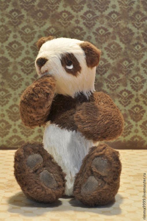 Мишки Тедди ручной работы. Ярмарка Мастеров - ручная работа. Купить Пандик Сию. Handmade. Панда, мишка в подарок