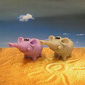 Косметика ручной работы handmade. Livemaster - original item Soap Good elephant. Handmade.