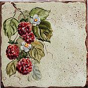 Для дома и интерьера ручной работы. Ярмарка Мастеров - ручная работа Роспись керамики. Номерок на дверь. Handmade.