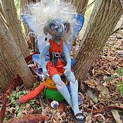 Куклы и игрушки ручной работы. Ярмарка Мастеров - ручная работа Агриппина -мотылёк .Грунтованный текстиль.. Handmade.