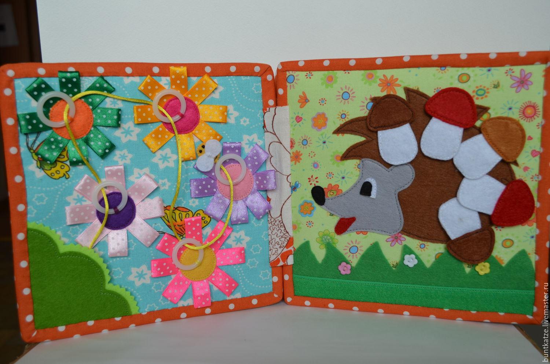 Развивающие книги для детей от 1 года своими руками
